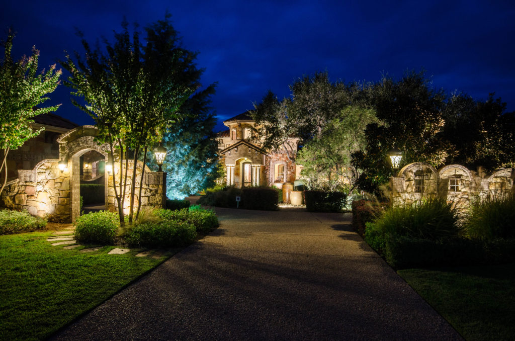 country outdoor lighting 1930's hill country area at texas outdoor lighting hill country landscape
