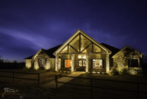 Outdoor Lighting Horseshoe Bay Texas Farmhouse