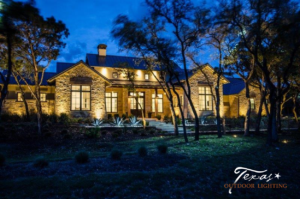 Outdoor lighting landscape lighting Spicewood Texas