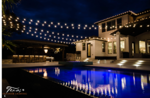 These cafe lights outdoor patio lighting pool lighting