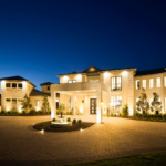 Outdoor Lighting Home in Rough Hollow Lakeway Texas