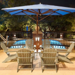 Outdoor Lighting Pool lighting Renaissance Austin Hotel